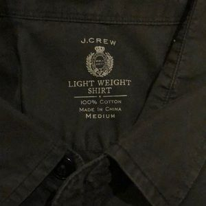 J. Crew Shirts - J Crew Light Weight Button Down
